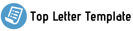 Top Letter Template