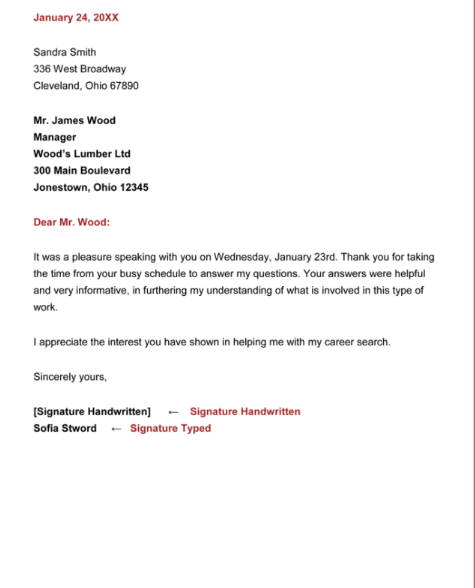 Thank You Letter Template Word, Thank You Letter Template PDF