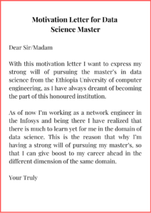 Motivation Letter for Data Science Master (1)